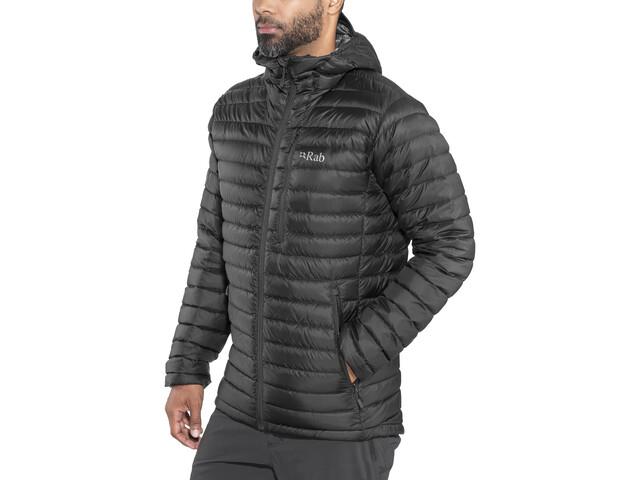 Rab Microlight Alpine Long Jacket Men black at Addnature.co.uk f02dab61a4